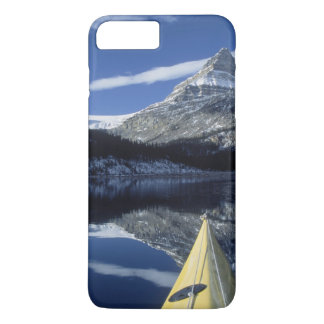 Canada, British Columbia, Banff. Kayak bow on iPhone 7 Plus Case