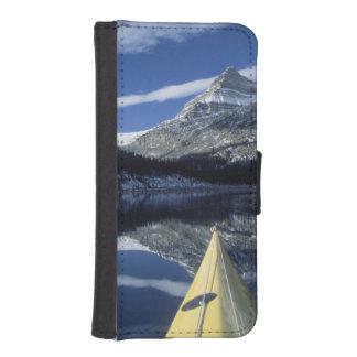 Canada, British Columbia, Banff. Kayak bow on Phone Wallets
