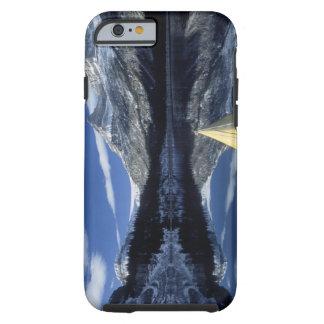 Canada, British Columbia, Banff. Kayak bow on Tough iPhone 6 Case