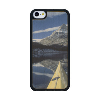 Canada, British Columbia, Banff. Kayak bow on Carved® Maple iPhone 5C Case
