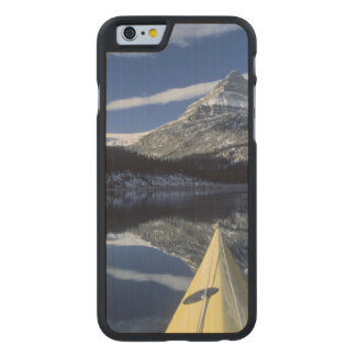 Canada, British Columbia, Banff. Kayak bow on Carved® Maple iPhone 6 Slim Case