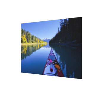 Canada, British Columbia, Bowron Lakes Canvas Print