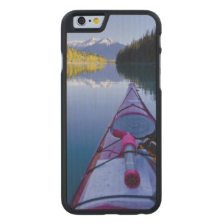 Canada, British Columbia, Bowron Lakes Carved® Maple iPhone 6 Slim Case