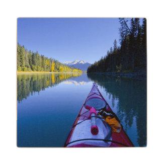Canada, British Columbia, Bowron Lakes Wood Coaster