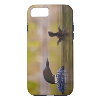 Canada, British Columbia,Common Loon, breeding 3 iPhone 8/7 Case