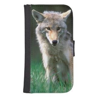 Canada, British Columbia, Coyote (Canis latrans) Samsung S4 Wallet Case