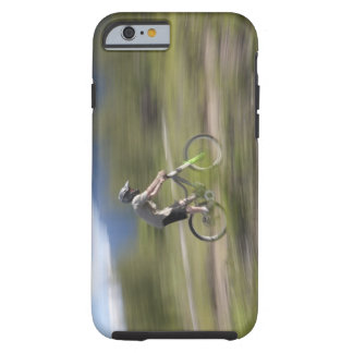 Canada, British Columbia, Fernie, Young man Tough iPhone 6 Case