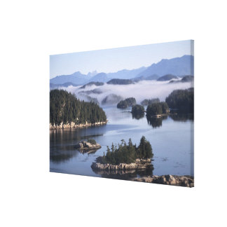 Canada, British Columbia, Johnstone Straight Canvas Print