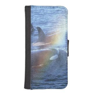 Canada, British Columbia, Johnstone Straight, iPhone SE/5/5s Wallet Case