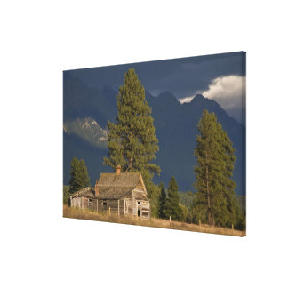 Canada, British Columbia, Kootenay Rockies, Canvas Print