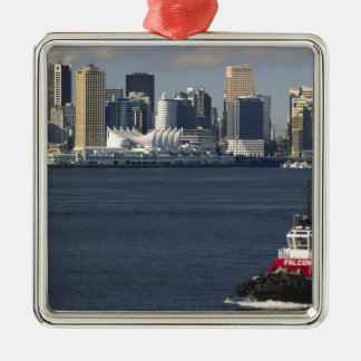 Canada, British Columbia, Vancouver. Downtown Christmas Ornament