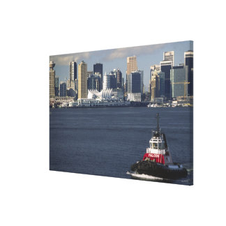 Canada, British Columbia, Vancouver. Downtown Stretched Canvas Prints
