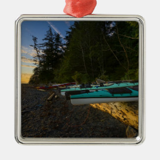 Canada, British Columbia, Vancouver Island, 2 Christmas Ornament