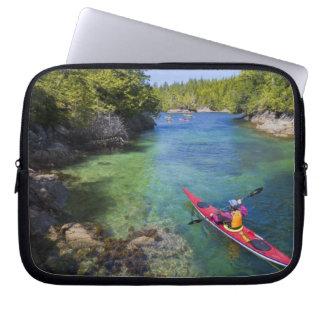 Canada, British Columbia, Vancouver Island. Sea Laptop Sleeve