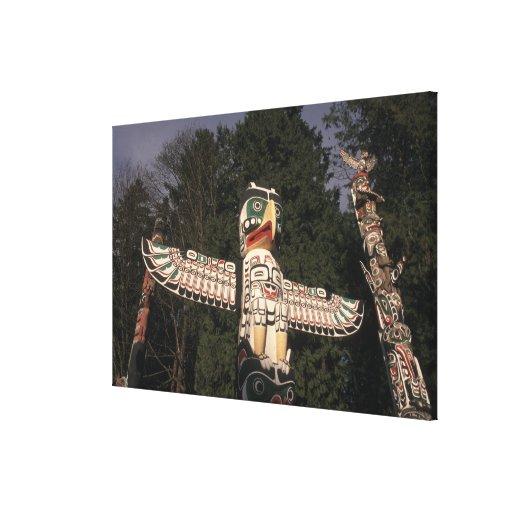 Canada, British Columbia, Vancouver.  Native Canvas Prints