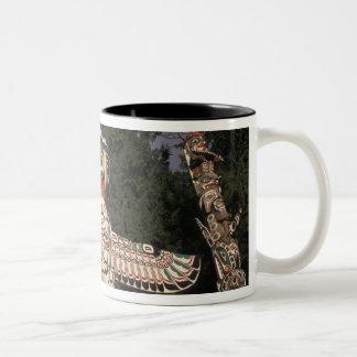 Canada, British Columbia, Vancouver.  Native Two-Tone Coffee Mug