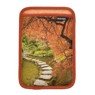 CANADA, British Columbia, Victoria. Autumn iPad Mini Sleeve