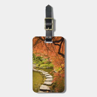 CANADA, British Columbia, Victoria. Autumn Luggage Tag