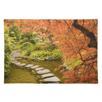 CANADA, British Columbia, Victoria. Autumn Placemat