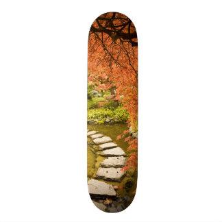 CANADA, British Columbia, Victoria. Autumn Skate Boards