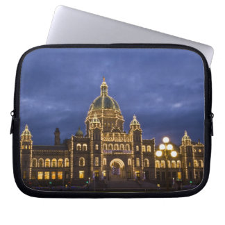 CANADA, British Columbia, Victoria. Evening, Laptop Sleeve