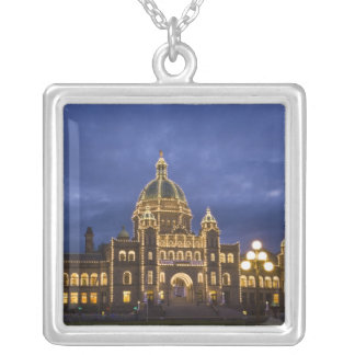 CANADA, British Columbia, Victoria. Evening, Silver Plated Necklace