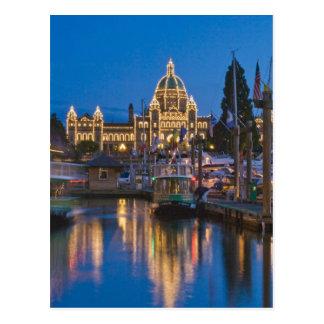 Canada, British Columbia, Victoria, Inner Postcard