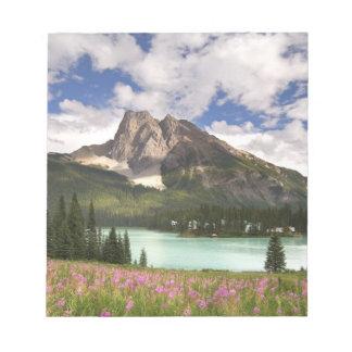 Canada, British Columbia, Yoho National Park. 3 Notepad