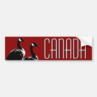 Canada Bumper Sticker Canada Geese Stickers