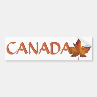 Canada Bumper Sticker Canadian Maple Leaf Stickers
