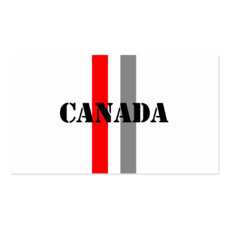 Canada Business Card Template