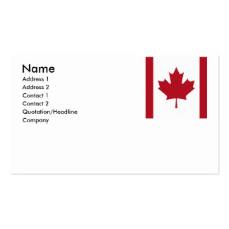 CANADA BUSINESS CARDS