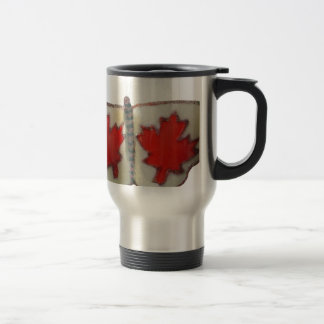 Canada Butterfly Stainless Steel Travel Mug