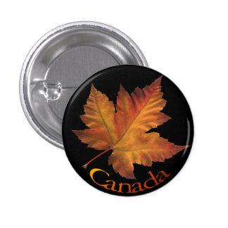 Canada Button Canada Maple Leaf Souvenir Buttons