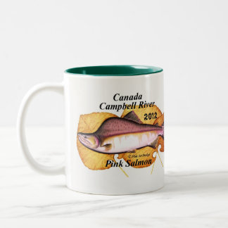 Canada Campbell River Pink Salmon. 2012 pink salmo Coffee Mugs