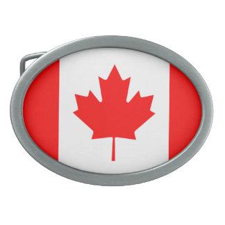 """Canada """"Canada Flag"""" Belt Buckle"""