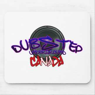 Canada Canadian DUBSTEP DnB reggae Electro Rave Mouse Mat