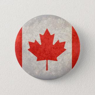 Canada; Canadian Flag 6 Cm Round Badge