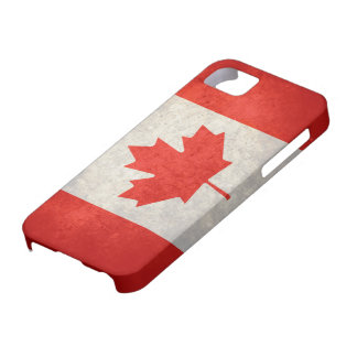 Canada; Canadian Flag Barely There iPhone 5 Case