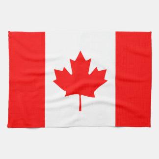 Canada - Canadian Flag Tea Towel