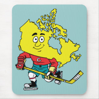 Canada Canadian Hockey Vintage Travel Souvenir Mouse Pad