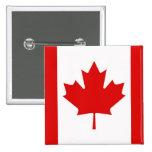 Canada Canadian Maple leaf flag 15 Cm Square Badge