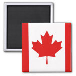 Canada Canadian Maple leaf flag Square Magnet