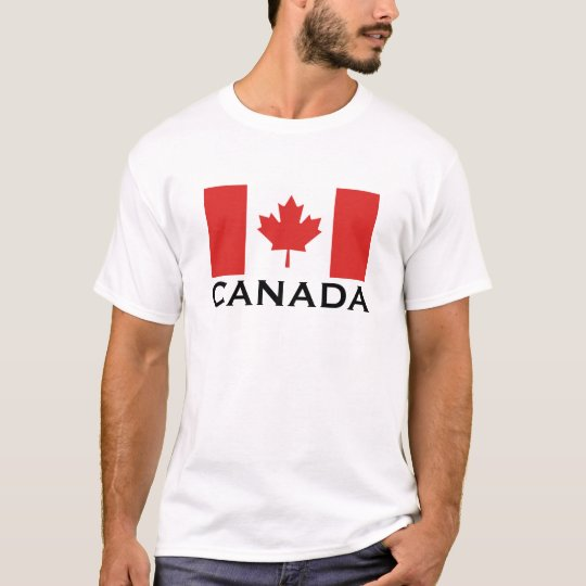 Canada Canadian National World Flag T-Shirt