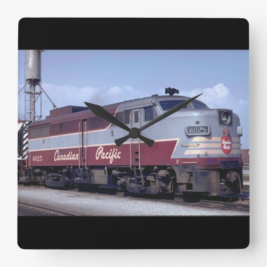 Canada, Canadian Pacific_Trains of the World Square Wall