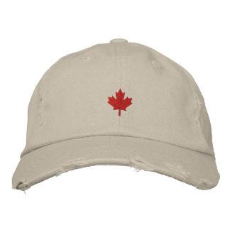 Canada Cap - Red Maple Leaf Hat Baseball Cap