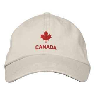 Canada Cap - Red Maple Leaf Hat Embroidered Hat