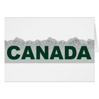 Canada Greeting Cards
