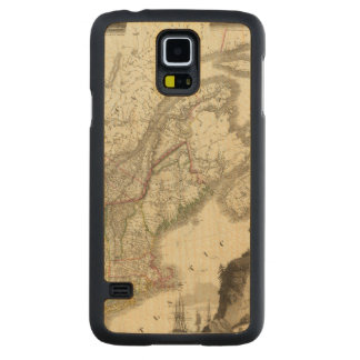 Canada Carved Maple Galaxy S5 Case