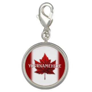 Canada Charms Canada Flag Souvenir Jewelry